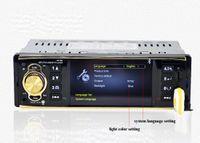 carro dvd usb venda por atacado-4.1 Polegada In-Dash Car Áudio DVD Player de Vídeo HD Digital Player MP5 Rádio Do Carro Bluetooth com Interfaces de Interface USB SD USB AUX