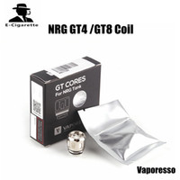 Wholesale Wholesale Core Power - 100% Original Vaporesso NRG GT4 GT8 Core Coil 0.15ohm Supports 30-65W Power For REVENGER Kit and NRG Tank