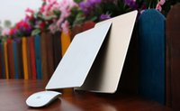 Wholesale Apple Macbook Mouse - Custom Luxury Macbook Mouse pad For CS GO 3D Aluminum Metal Large Game Mouse Pad PC Computer Laptop Gaming Mousepad for Apple MackBook