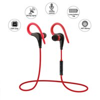 Wholesale Ear Display - Sport Headset S9 Wireless Bluetooth Earphone Gym Earbuds Hifi Stereo Sound Voice Dialing Redialing IOS Battery Display Voice Prompt With Mic