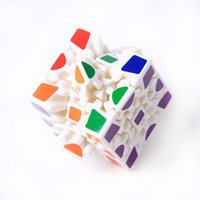 Wholesale D Cube Puzzle Magic Cube x x Gears Rotate Puzzle Sticker Adults Child s Educational Toy Cube NQ838759