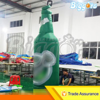 > 3 years old blowers manufacturers - China Professional Manufacturer Activities Promotion Outdoor Giant Air Inflated Bottle Inflatable Beer Bottle Shape With Blowers