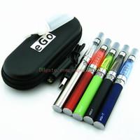 Wholesale Ego Kit Set Ce4 - CE4 eGo Starter kit CE4 Atomizer 1.6ml 2.4ohm electronic cigarette 650mAh 900mAh 1100mAh battery CE4 Clearomizer eGo set series free shippin