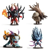 Wholesale Star Q - 4pcs dota 2 figurine pudge toys set 2016 New Game Dota2 Q hero action figures resin weapons sword Talisman props car ornaments