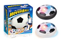 Wholesale Foam Soccer Balls - Hover Ball Hover Soccer Football Fidget Toy Children Toy Football Indoor Outdoor LED Hover Ball With Foam Bumpers