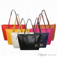 Wholesale Fashion Women Bags Handbags PU Leather Famous K M Korse Jet Set Travel Saffiano Famous Brand Designer Tote Lady f2 MICHAEL Female Bag
