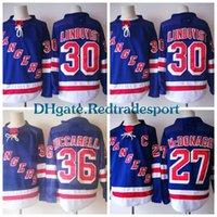 dde0a7e3c Cheap Ice Hockey Henrik Lundqvist Jersey Best Men Full Mats Zuccarello  Jersey