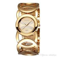 bayanlar kuvars saatler elbise toptan satış-Reloj Mujer Lüks Su Geçirmez Kristal Kadınlar Bilezik Saatler Lady Moda Kız Elbise Kuvars İzle Saat Kadın Relogio Feminino Drop Shipping