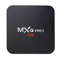 mx tv box quad core al por mayor-MXQ PRO Android tv box RK3329 Android 6.0 1G / 8G WiFi 4K Complementos cargados 1080i / p set top box OTH039