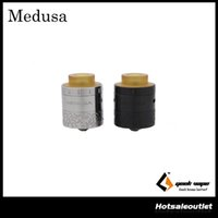 Wholesale good systems - Authentic Geekvape Medusa RDTA Atomizer with 3ml e-Juice Capacity with Drip Refill System & Extremly Good Looking for the Hot Guy