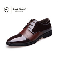 Wholesale High Wedges For Wedding - Brand 2017 British New Fashion High Quality Men Loafers Genuine Leather Shoes Male Business for Men Dress Party And Wedding Mens Shoe Flats