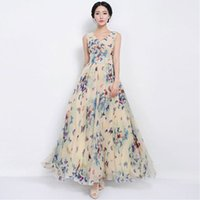 201Sexy Женское летнее платье Maxi Long шифон Beach Dresses Loose Casual Butterfly печатное платье Slim Vestidos PlusSize XXXL