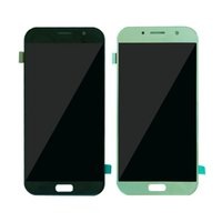 Per Samsung GALAXY A720S A720F A720D Display LCD Touch screen Panel Digitizer Assembly Glass 2017 A7 100% test migliore qualità Spedizione Gratuita