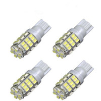 Wholesale Light 921 - Led Bulbs 1206 42-SMD T10 12V LED Replacement Light Bulb + STICKER 921 912 906 White Durable LED SMD Bulbs Ultra Bright LED bulbs