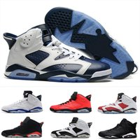 Wholesale Table Cat Box - 2017 air retro 6 men Basketball Shoes Maroon black cat Alternate Hare angry bull Carmine Infrared Oreo sport blue Olympic sports Sneakers