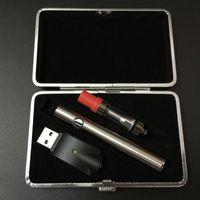 Wholesale V6 Charger - Variable Voltage e smart battery thick oil preheat battery vape pen kit usb charger Amigo liberty V4 V6 V7 V9 ceramic tank
