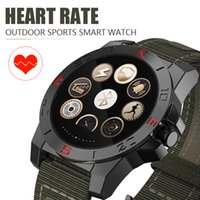 Wholesale Vehicle Compasses - AiELEMZION N10B Smart Watch Outdoor Sport Smartwatch with Heart Rate Monitor Compass Waterproof Bluetooth Wach for IOS Android