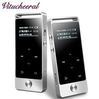 Wholesale Book Card Games - Wholesale- Original Touch Screen MP3 Player 8GB AUPHIL BENJIE S5 APE FLAC WAV High Sound Quality Entry-level Lossless Music Player with FM