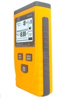 medidores de radiación electromagnética al por mayor-Freeshipping Digital LCD luz de Sonido-Luz de alarma Electromagnetic Radiación Detector Dosificador Medidor Tester Counter