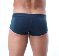 Wholesale Sexy Sport Shorts For Men - Brave Person Brand Underwear Mens Sexy High Quality Men Boxer Shorts Panties Underpant Boxers Sports Trunks for Man Tight slip uomo sexy gay