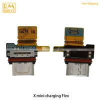 cable usb xperia al por mayor-Original 5 unids / lote para Sony Xperia X Mini X XP Z5 Cargador Puerto Puerto Conector Solt Tarjeta de carga Usb Flex Cable Ribbon Parts