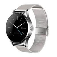 neueste wasserdichte telefon großhandel-Neueste k88h smart watch bluetooth 4,0 mit pulsmesser für ios android telefon tragbare drahtlose smartwatch stahlband wasserdicht ip54