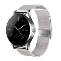 Wholesale k88h smart watch online – Newest K88H Smart Watch Bluetooth With Heart Rate Monitor For IOS Android Phone Wearable Wireless Smartwatch Steel Band Waterproof IP54
