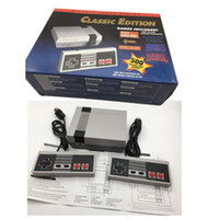 Wholesale Nes Controllers - Handheld Game Console Mini TV Video Entertainment System Built-in 500 Classic Games Controllers For Nes Games PAL&NTSC With Retail Box