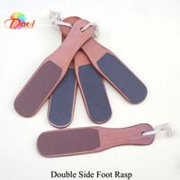 wooden foot rasp feet nail tools 10pcs lot red wood foot file nail art nail file Manicure kits