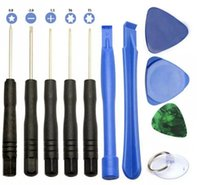Wholesale cell phone tools set resale online - 2017 Free DHL Shipping set Cell Phones Pry Repair Screwdrivers Mobile Repair Opening Tools Ferramentas Kit Set For iPhone for Samsung