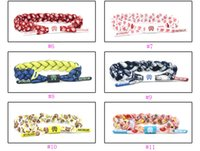Wholesale 18 Color Rastaclat Galaxy Shoelace Bracelet POLYESTER Wristband Adjustable Ties CM ONE SIZE FITS MOST All Styles A055