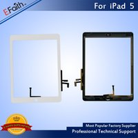 Grau A +++ Qualidade para iPad iPad digital ipad Air 2 Touch Screen Digitizer com Home Button + Adhesive Free DHL Shipping