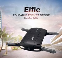 Wholesale Control Gopro - 2017 Best Sell JJRC H37 Elfie foldable Mini Selfie Drone JJRCH37 WIFI Camera Altitude Hold FPV Quadcopter WIFI phone Control RC