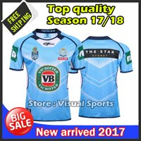 Wholesale Wales Rugby Jersey - Thai quality NSW Origin Jersey 2016 Classic New South Wales Blues State of Origin 2017 Rugby Jersey New South Wales Blues State Rugby Shirt