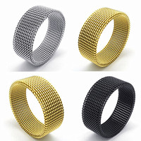 Wholesale Womens Silver Biker Rings - wholesale 50pcs mix styles mens womens stainless steel fashion jewelry biker punk rings brand new silver gold black