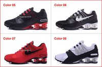 Wholesale Shox Brand Shoes - Drop Shipping Brand New Running Shoes For Men Discount Mens Shox Avenue NZ Sports Shoes Cheap Man R4 Trainers Air Sports Shoes
