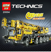 Wholesale Toys Power Blocks - LEPIN 20004 2606Pcs Technic Motor Power Mobile Crane Mk II Model Building Kits Blocks Toy Bricks Christmas Gift 42009
