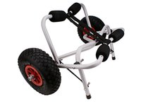 Wholesale New Kayak Canoe Jon Boat Carrier Dolly Trailer Tote Trolley Transport Cart Wheel Big Wheels