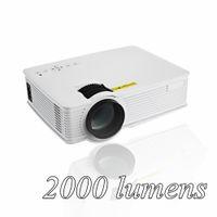 Wholesale Mini Proyector Hd - Wholesale-GP 9 2000 lumens Mini Projetor Full HD 1080P Portable USB Cinema Home Theater Pico LCD Video LED Projector Beamer GP-9 Proyector