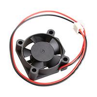 Wholesale 12v Radiator Fan - Wholesale- CAA-12V Cooler Brushless DC Fan 30x10mm Mini Cooling Radiator