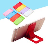 Wholesale Display Stands For Phones - Folding Mobile Phone Holder Lazy Phone Holder stand Bed Display Phone Accessories for Iphone Tablet Samsung Galaxy