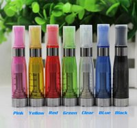 CE5 Clearomizer No Wick Cartridge Upgrade Ego CE4 Atomizers 1.6ml E Cigarette 510 Pyrex Tank Para eGo-T Evod Bateria E-Cig Starter Kits