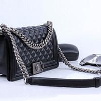Wholesale Vintage Interior Design - New arrival top design luxury lady bag bolsa women's classic handbags ladies vintage crossbody messenger chain bag