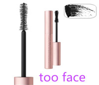 Wholesale 3PCS the latest too faced BETTER THAN SEX MASCARA mascara thick fiber long roll waterproof sweat lasting anti blooming Free Delivery