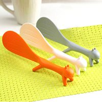 All'ingrosso creativo Lovely Kitchen Supplie Squirrel forma antiaderente Rice Paddle