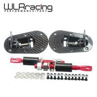 Wholesale D1 Pin - D1 New Universal Racing Lock Plus Flush Hood Latch Pin Kit, Carbon Fiber, JDM style without key WLR-BPK-D31
