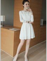 Wholesale White Linen Shirt Cheapest - Cheapest Dress FashionableSlim Long Lace Dress White