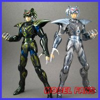 Wholesale Aurora Models - Wholesale- MODEL FANS IN-STOCK Aurora Model Cs Model Saint Seiya Alcor Dzeta Bud Mizar Dzeta Syd cloth myth metal armor action figure