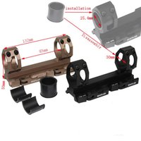 Wholesale Aluminum Hunting Scope mount for mm mm tube diameter QD Mounts Bases Auto Lock Picatinny mount for mm rail