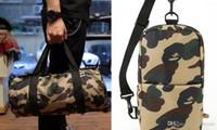 Wholesale Single Shoulder Sling Strap - Men Chest Pack Sling Single Shoulder Strap Pack Bag Travel Bags Camouflage Canvas Rucksack Chest backpack